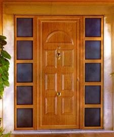 Aluminios europa puertas de aluminio - Puertas de aluminio color madera ...